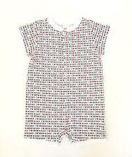 H M One-Piece Pj Sleepwear I Love Mum and Dad Organic Cotton Newborn 3-6 Months