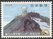 Japan 1965 Mt Fuji Radar Station/Meteorology/Aviation/Weather/Building 1v n25526