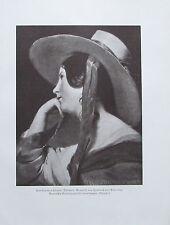 Friedrich von Amerling UNBEKANNTES WIENER MÄDCHEN Druck aus der 40er print