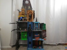 Batman Vs Superman Ultimate Batcave Playset 4 Ft Tall 4 Levels + Helicopter + Fi