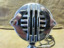 Vintage Astatic Microphone & Stand > Antique Old Mike Mic Chrome Steampunk 10033