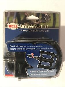 New Bell Comp. Bicycle Pedals Universal Fit - Fits all bikes. Sealed