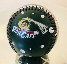 Rare Vintage GARY RAILCATS Ball Minor League South Shore Independent Baseball