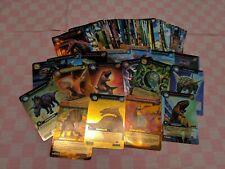 60 Carte Dinosaure King Rare Gold avec Booster vide