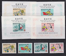 1970 Sc 676/9,676a/9a set Mnh fable issue j1976