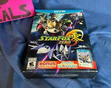 Star Fox Zero + Star Fox Guard Nintendo Wii U New Sealed Box Wear