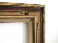 ART & CRAFTS, NOUVEAU HAND CARVED WOOD FRAME FOR PAINTING  16 X 12 INCH  (e-17)