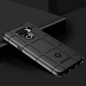 For LG Model Luxury Anti-Drop Shockproof Armor Rugged TPU Rubber Case Cover