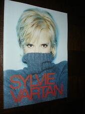 PROGRAMME SYLVIE VARTAN - Autographe Christian Morin