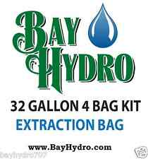 BAY HYDRO 32gal / 4bag bubble ICE extraction bags High Quality $$ SAVE $$