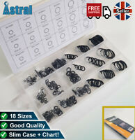 Rubber O Ring/ Gasket/ Washer 225Pc Mixed Box | Seals hose, pipe, tap, valve