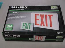 ALL-PRO APLX7RG EXIT and EMERGENCY Lighting LED EXIT SIGN