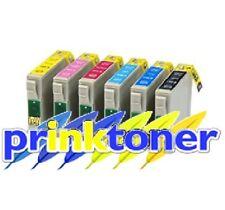 E-t0807 SET COMPLETO INCHIOSTRO PER EPSON STYLUS PHOTO R265, R270, R285, R290, R360, RX560, RX585