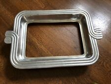 MEXICAN PEWTER PYREX CASSEROLE DISH HOLDER