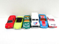 Vintage Majorette Cars Mustang Corvette Ferrari Pontiac Bank Truck Lot of 6