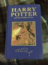 Harry Potter and the Goblet of Fire  UK Special Ed. FIRST EDITION VG condition