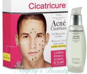 Cicatricure Acne Cicatrices gel reparador 30ml unificador de tono y textura.
