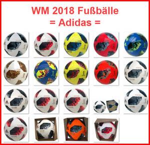 ADIDAS TELSTAR WM 2018 FUSSBÄLLE MIX TRAININGSBALL MATCHBALL JUNIOR BALL TORFABR