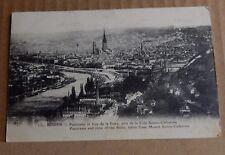 Postcard WW1 Rouen City View Soldier Message Censor Stamp