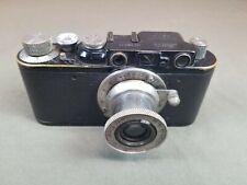 Leica II 1929 Leica 1 factory conversion black camera with early Elmar lens...
