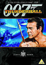 THUNDERBALL THUNDER BALL DVD JAMES BOND 007 REMASTERED EDITION Sean Connery New