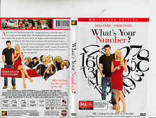 What's Your Number-2011-Anna Faris-Extended Edition- Movie-DVD