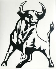 adesivo Toro bull auto moto wall sticker decal vynil vinile animale animal