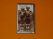 SUCHARD 1933 FRANCE COLONIES AFRIQUE AEF MOYEN CONGO N°166 FILLETTES INDIGENES