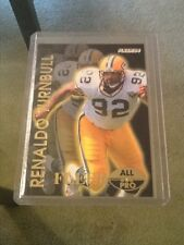 1994 Fleer Reggie White All Pro Error Wrong Back Green Bay Packers Free Ship Hot