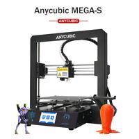 "EU ANYCUBIC Mega-S 3D Printer All Metal Frame Ultrabase Heated V5 3.5""TFT No PLA"