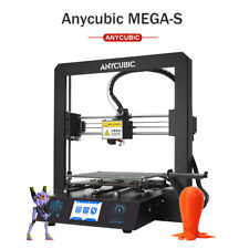 "US Stock Anycubic Mega S 3D Printer Metal with Ultrabase Heated 3.5"" TFT 10m PLA"