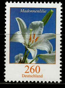 Bund 3207 R **, Rollenmarke mit Nr., 260 C. Freimarke Blumen