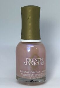 Orly French Manicure Nail Polish LAISSEZ FAIRE 42495 Iridescent Cotton Candy