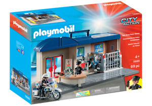 Playmobil 5689 Comisaria de Policia City Action Police Station