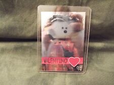 TY BEANIE BABIES Hologram Card Series 2 Green Valentino 1289/8888