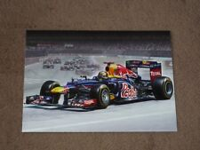 Sebastian VETTEL - CZE Red Bull Art by M. Reinis, Karte/card 10x15 cm, RAR!