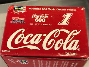 Coca- Cola 600 Diecast Race Car Revell Monte Carlo Authentic Replica #1 1997