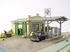 """Diorama """"Tankstelle"""" mit Beleuchtung Bilder anschauen neu/OVP (059) HO Pola"""