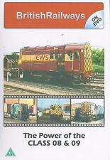 Power of Class 08 & 09 Dvd: BR Blue Green EWS Maintrain Railfreight Grey Derby