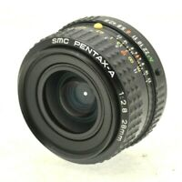 Pentax-A 28mm F2.8 SMC Wide Angle Lens, with Caps for PK / PKA