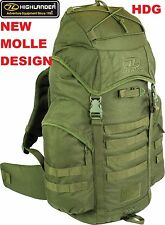 HIGHLANDER Scotland BRITISH ARMY FORCES RUCKSACK/BERGEN 44L OG MOLLE BACK PACK