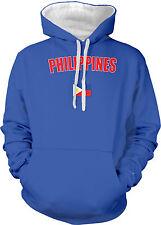 Republic of Phillipines Filipino Manila Quezon Country  2-tone Hoodie Pullover