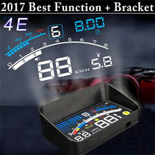 "ASH-4E 5.5"" Car Auto Truck GPS HUD Head Up Display OBD2 OverSpeed Warning System"