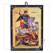 1005 icono hl. Georg Icon procedentes de Grecia икона Георгий победоносе