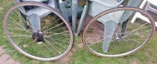 1950 S VINTAGE 27 in (ca. 68.58 cm) RUOTE CERCHIONI su S Conloy/F Airlite Hub bicicletta Hetchins!!! Ex