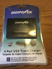***NEW Digipower 4 Port USB Travel Charger ACD-4USB NEW***