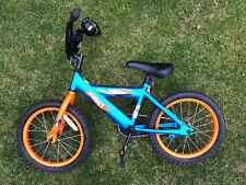 Hot Wheels 16 Bike w/o Training Wheels Bicycle Brake Steel Frame For Kids Boys