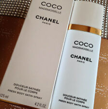 SEALED BEYOND RARE CHANEL COCO MADEMOISELLE PARFUM BODY SATIN SPRAY DISCONTINUED