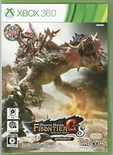 Monster Hunter Frontier G8 premium package 18 JAPAN JES1-00418 Capcom XBOX s4727
