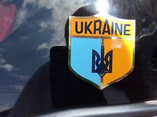 UKRAINIAN INSIDE or OUTSIDE APPLICATION CAR STICKERS